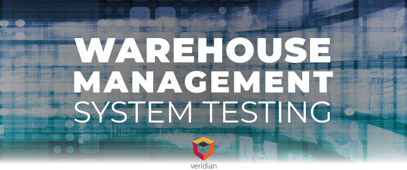 Warehouse-Management-System-Testing-Veridian