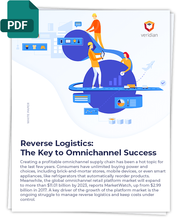Veridian - Reverse Logistics - The Key to Omnichannel Success White Paper - Cover