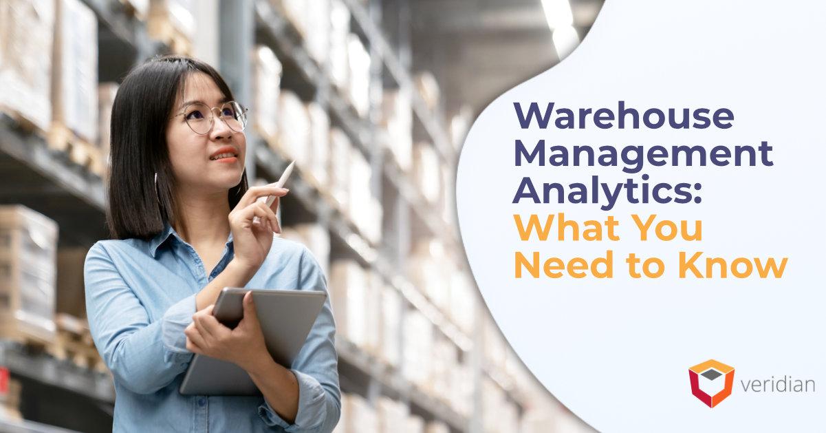 Warehouse Management Analytics