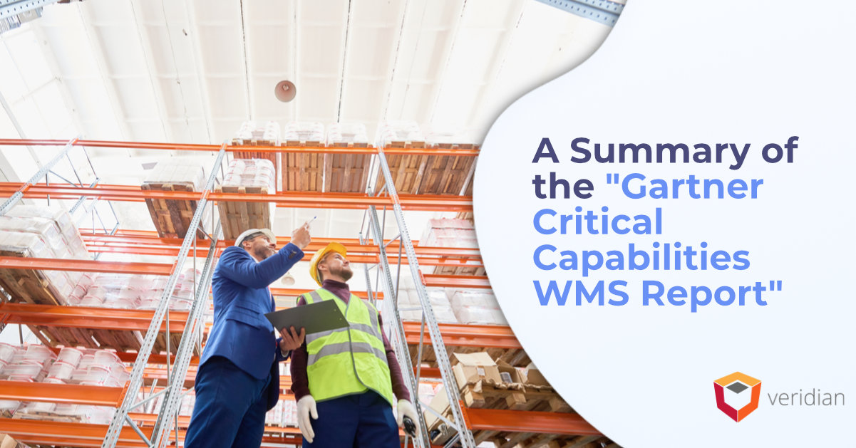 Gartner Critical Capabilities WMS Report