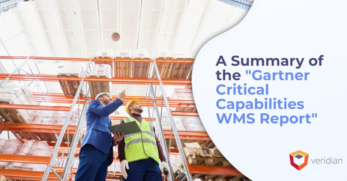 Gartner Critical Capabilities WMS Report