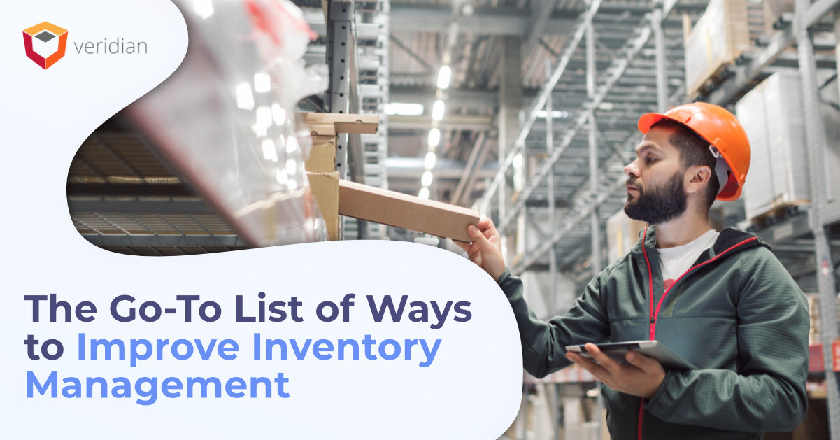 Ways to Improve Inventory Management