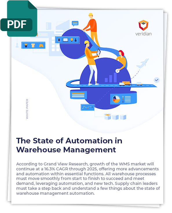 state of automation in warehouse management cover