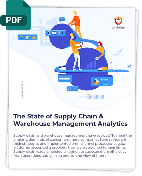 The State of Supply Chain & Warehouse Management Analytics - Cover Photo