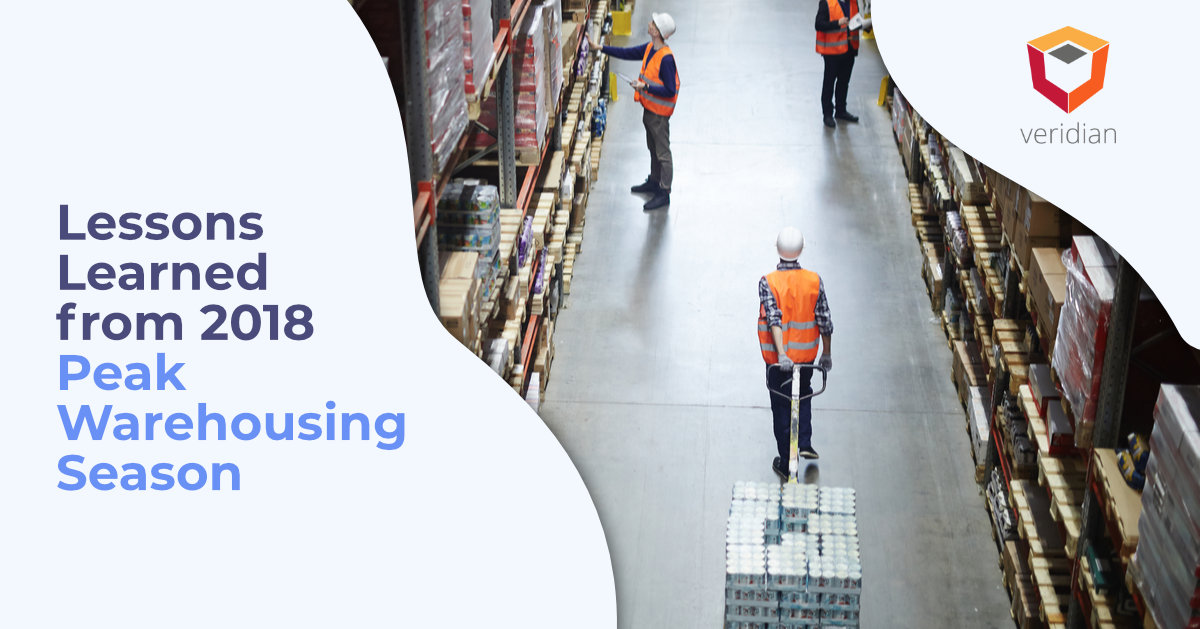 peak warehousing season