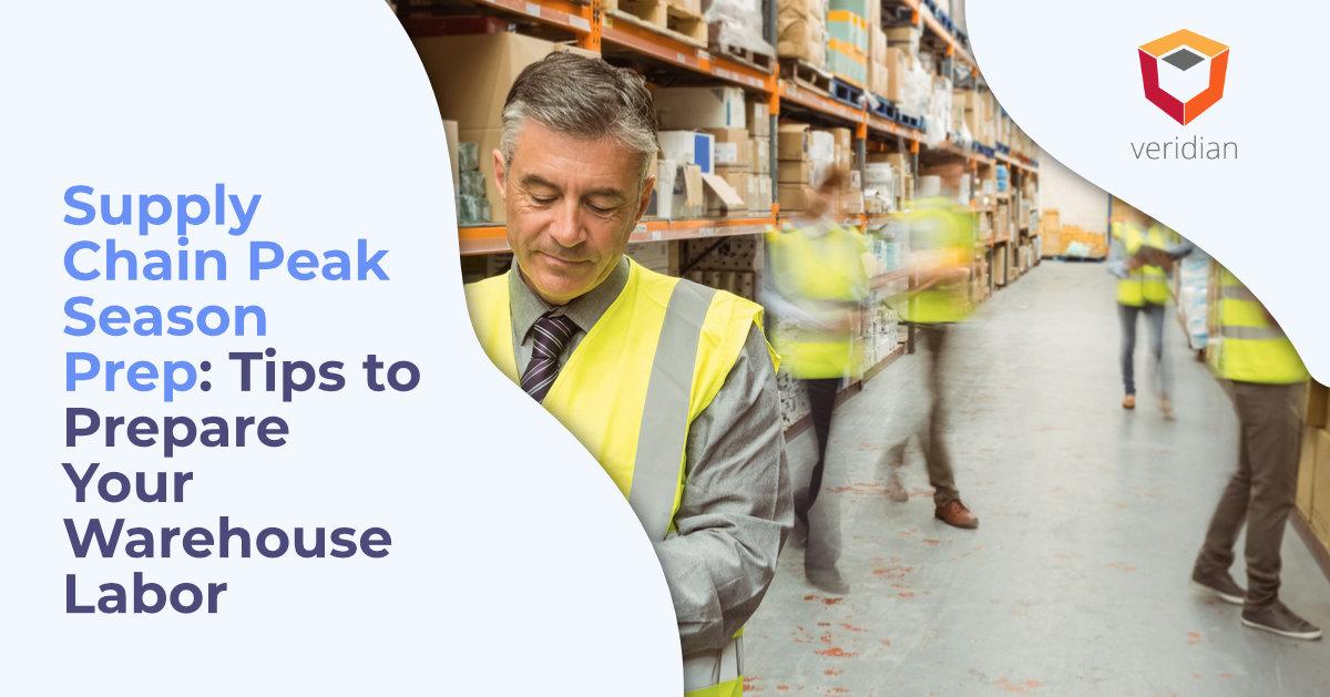 supply chain peak season prep