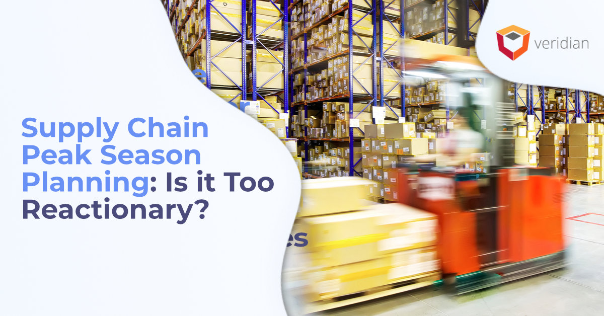 supply chain peak season planning
