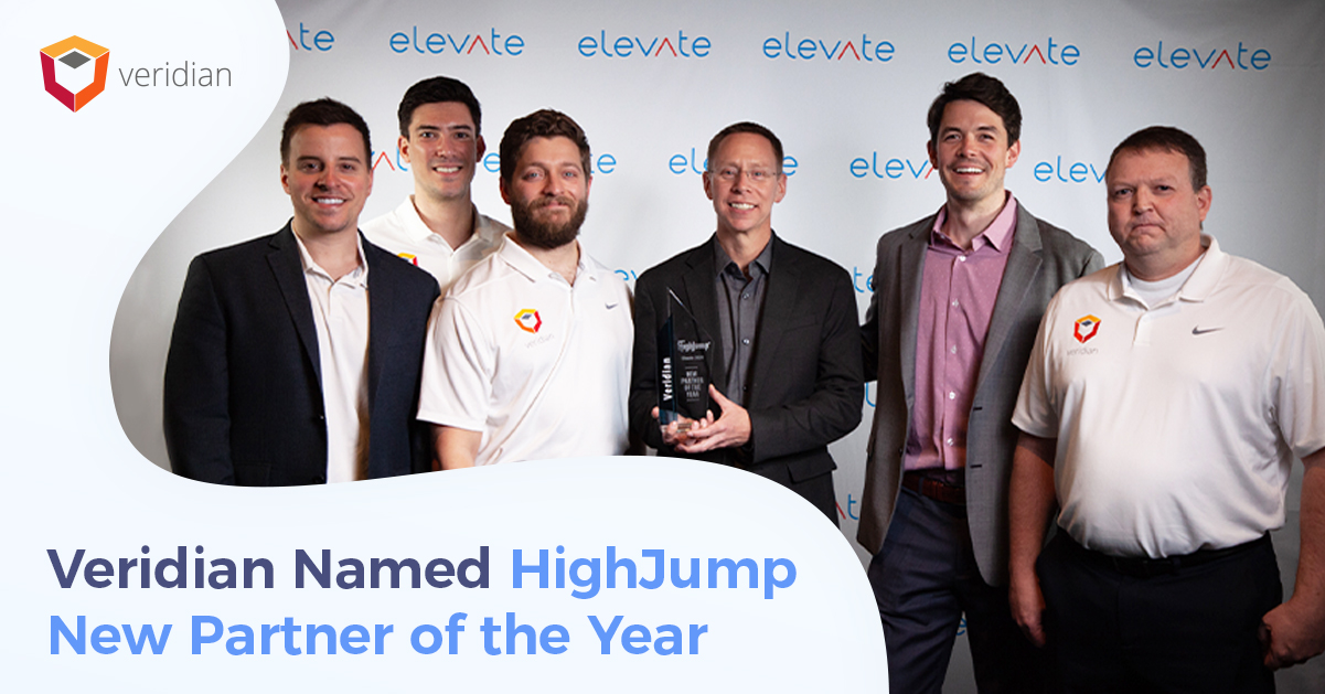 Veridian HighJump New Partner of the Year